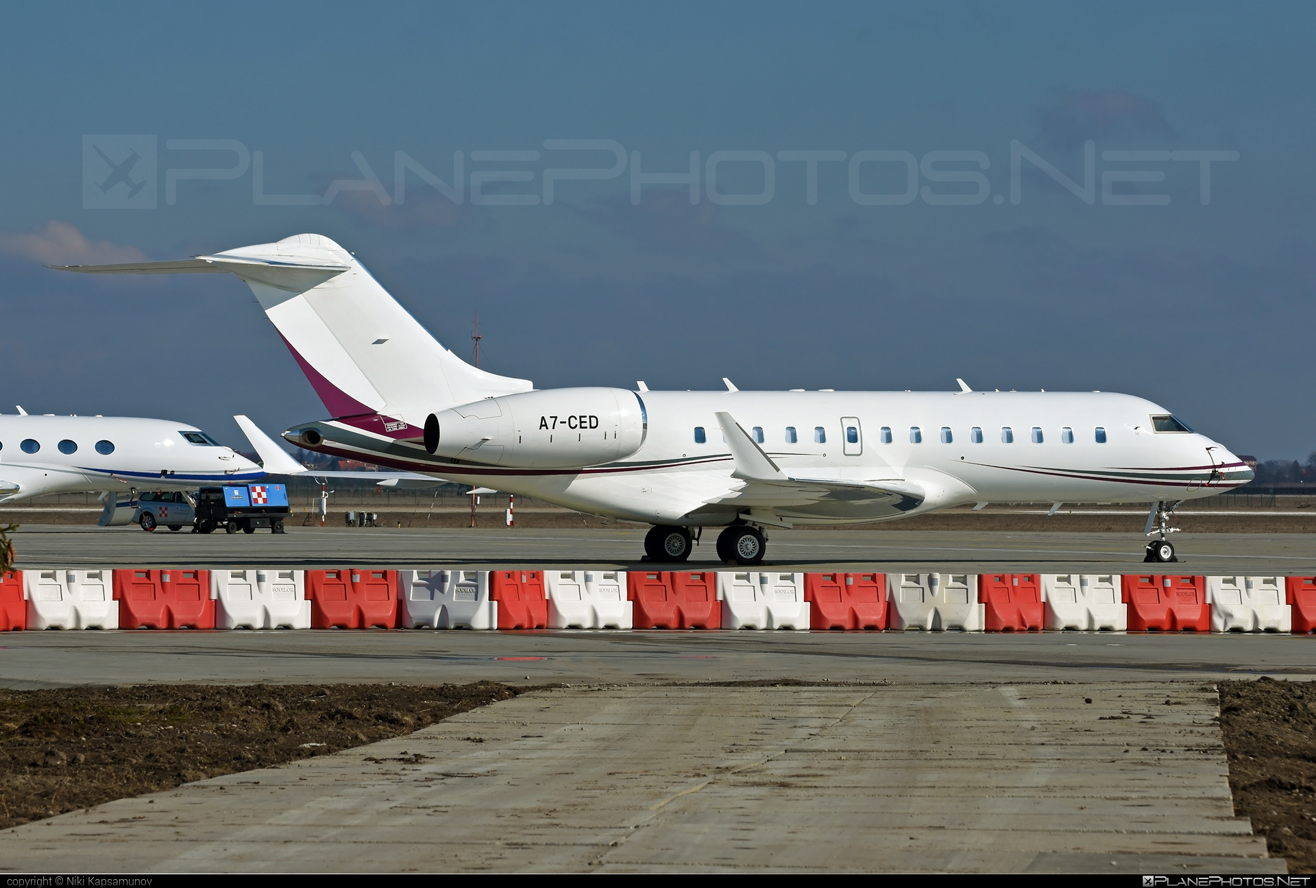 Bombardier BD-700-1A11 Global 5000 - A7-CED operated by Qatar Executive #bd7001a11 #bombardier #bombardierglobal5000 #global5000
