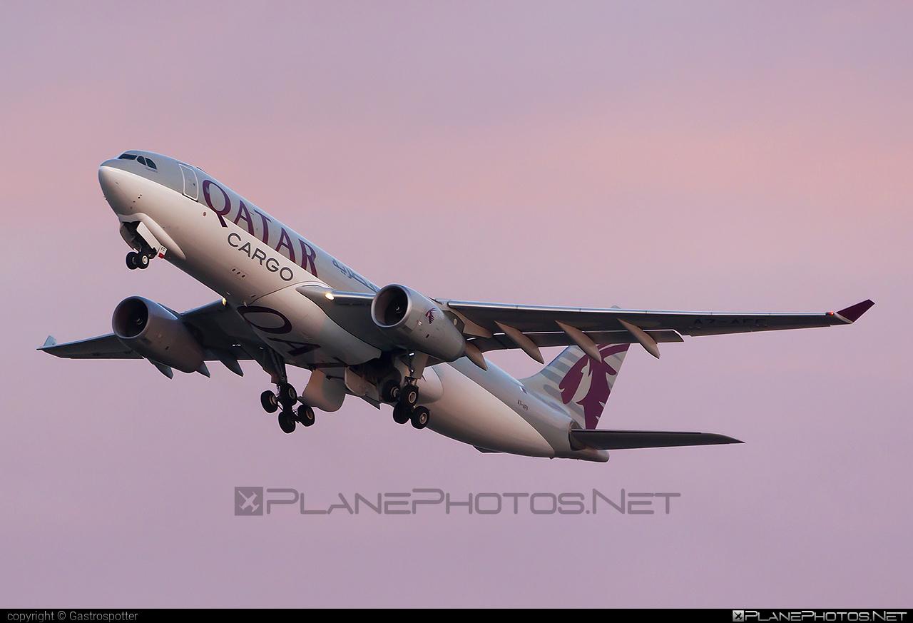 Qatar Airways Cargo Airbus A330-243F - A7-AFF #a330 #a330f #a330family #airbus #airbus330 #qatarairwayscargo