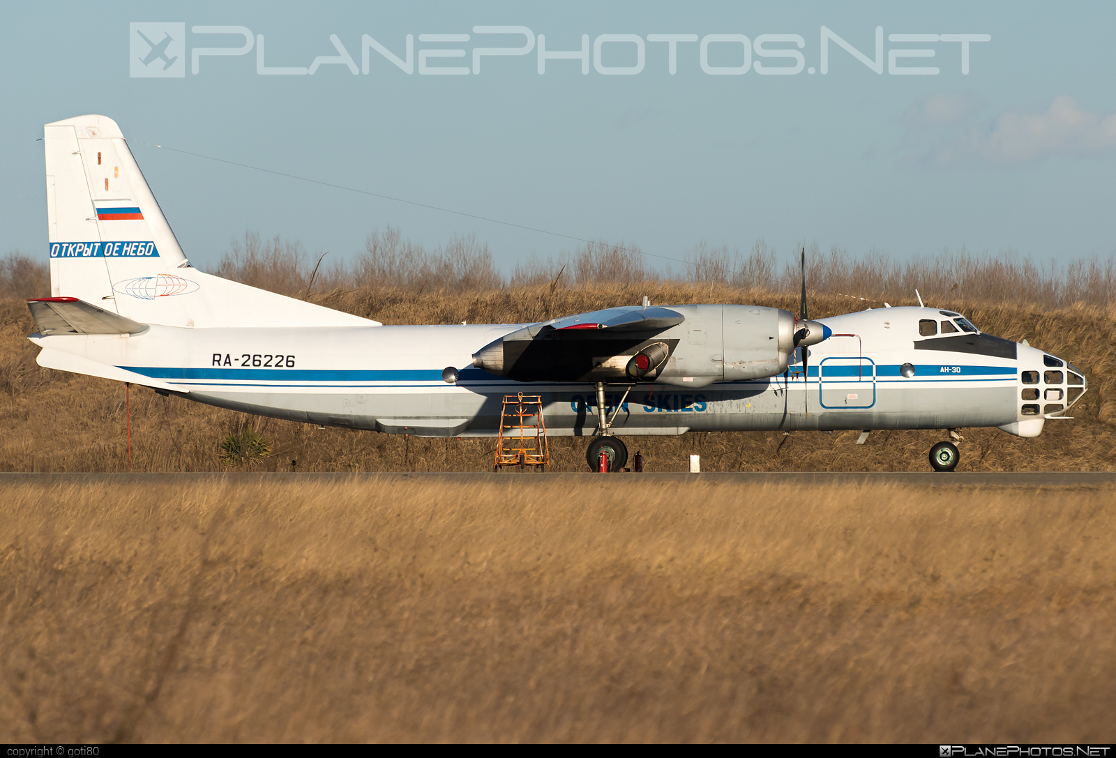 Antonov An-30 - RA-26226 operated by Voyenno-vozdushnye sily Rossii (Russian Air Force) #an30 #antonov #antonov30