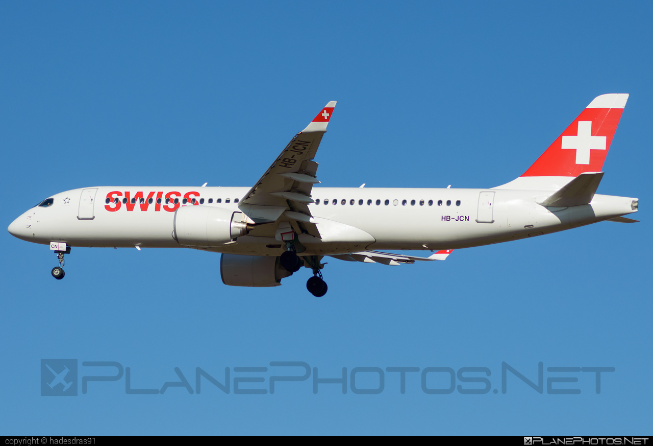 Airbus A220-300 - HB-JCN operated by Swiss International Air Lines #a220300 #a220family #airbus #cs300 #cseries #cseries300 #swiss #swissairlines