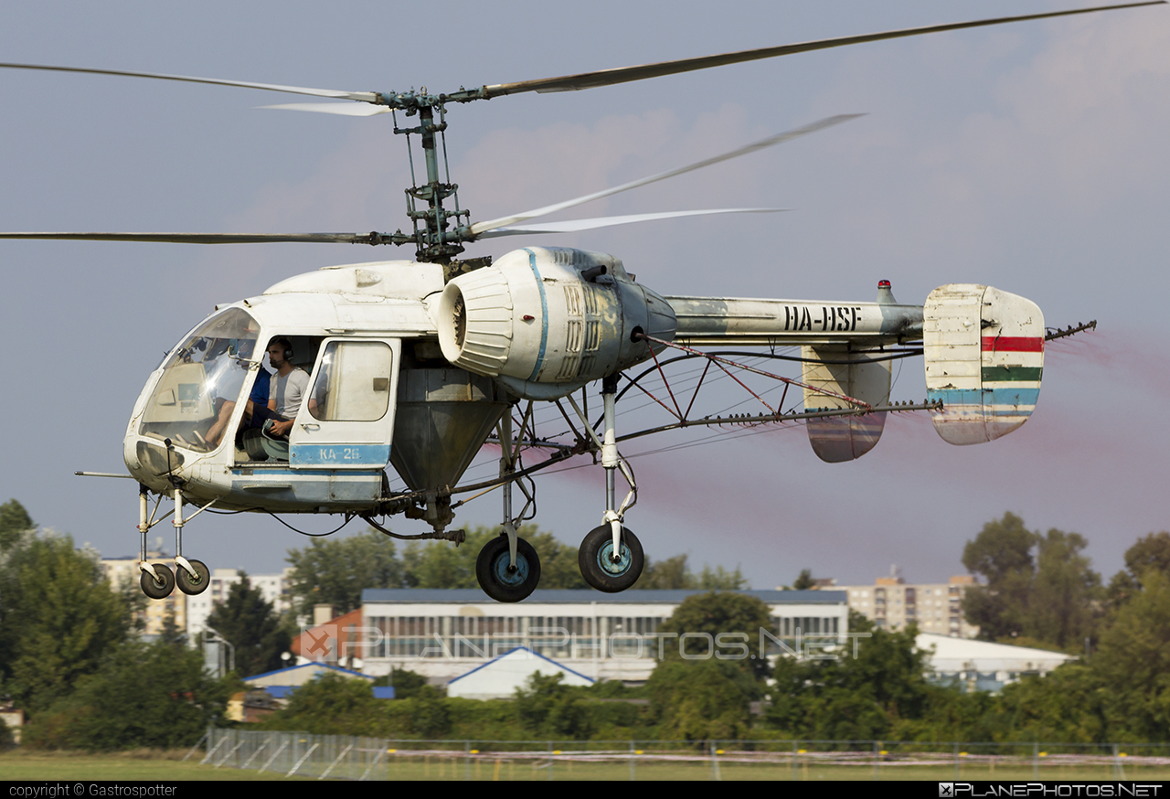 Kamov Ka-26 - HA-HSF operated by Private operator #kamov