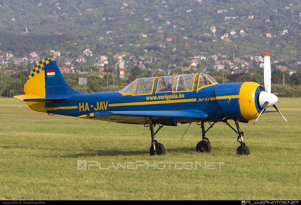 Yakovlev Yak-52 - HA-JAV operated by Private operator #yak #yak52 #yakovlev