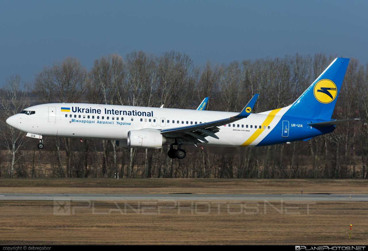 Boeing 737-800 - UR-UIA operated by Ukraine International Airlines #b737 #b737nextgen #b737ng #boeing #boeing737 #uia #ukraineinternationalairlines