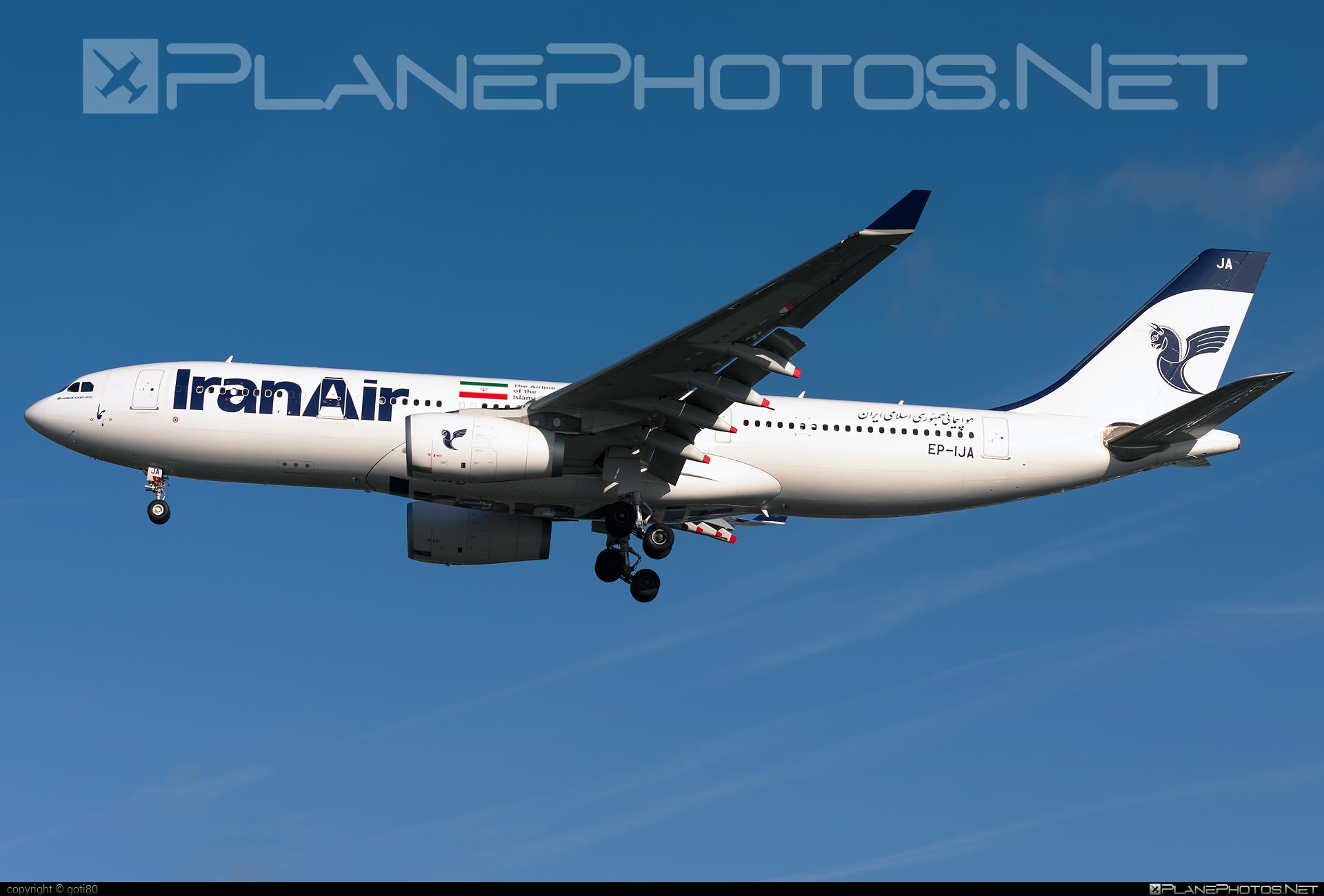 Iran Air Airbus A330-243 - EP-IJA #a330 #a330family #airbus #airbus330