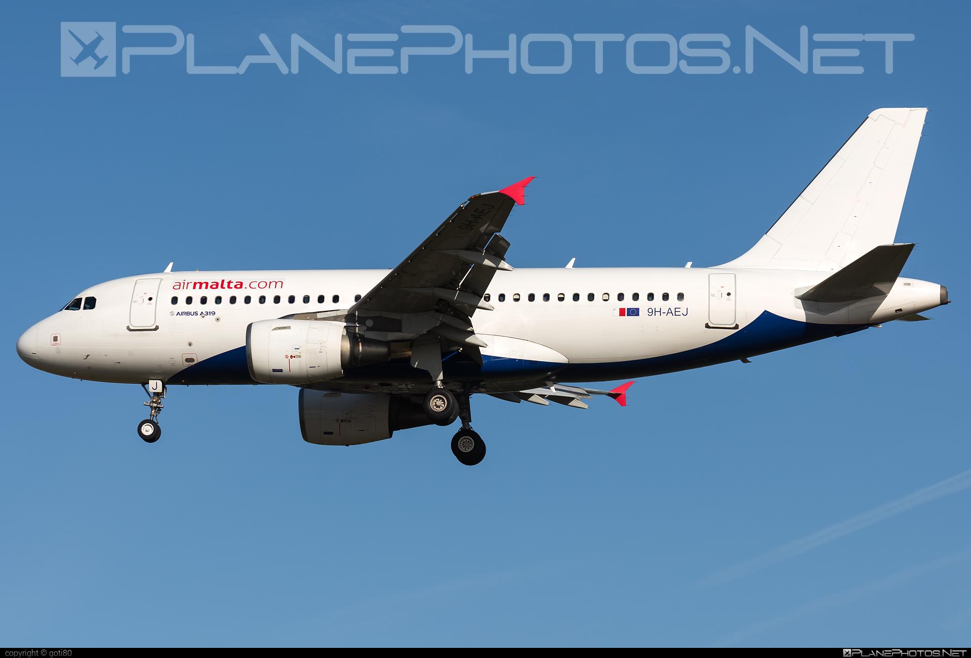 Airbus A319-111 - 9H-AEJ operated by Air Malta #a319 #a320family #airbus #airbus319 #airmalta