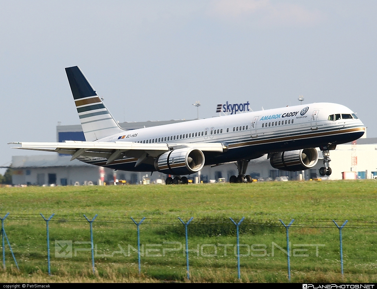 Boeing 757-200 - EC-HDS operated by Privilege Style #b757 #boeing #boeing757