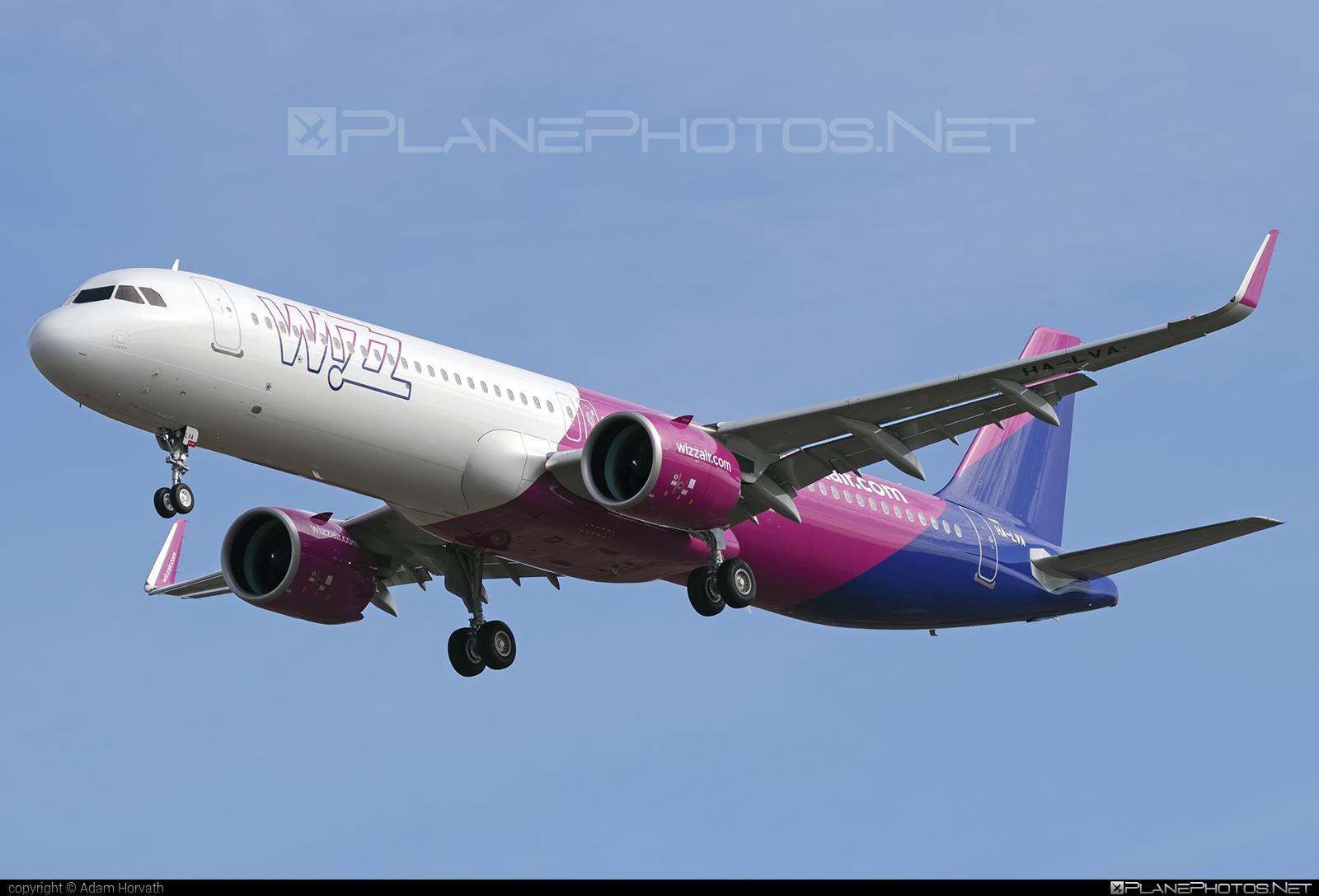 Wizz Air Airbus A321-271NX - HA-LVA #a320family #a321 #a321neo #airbus #airbus321 #airbus321lr #wizz #wizzair