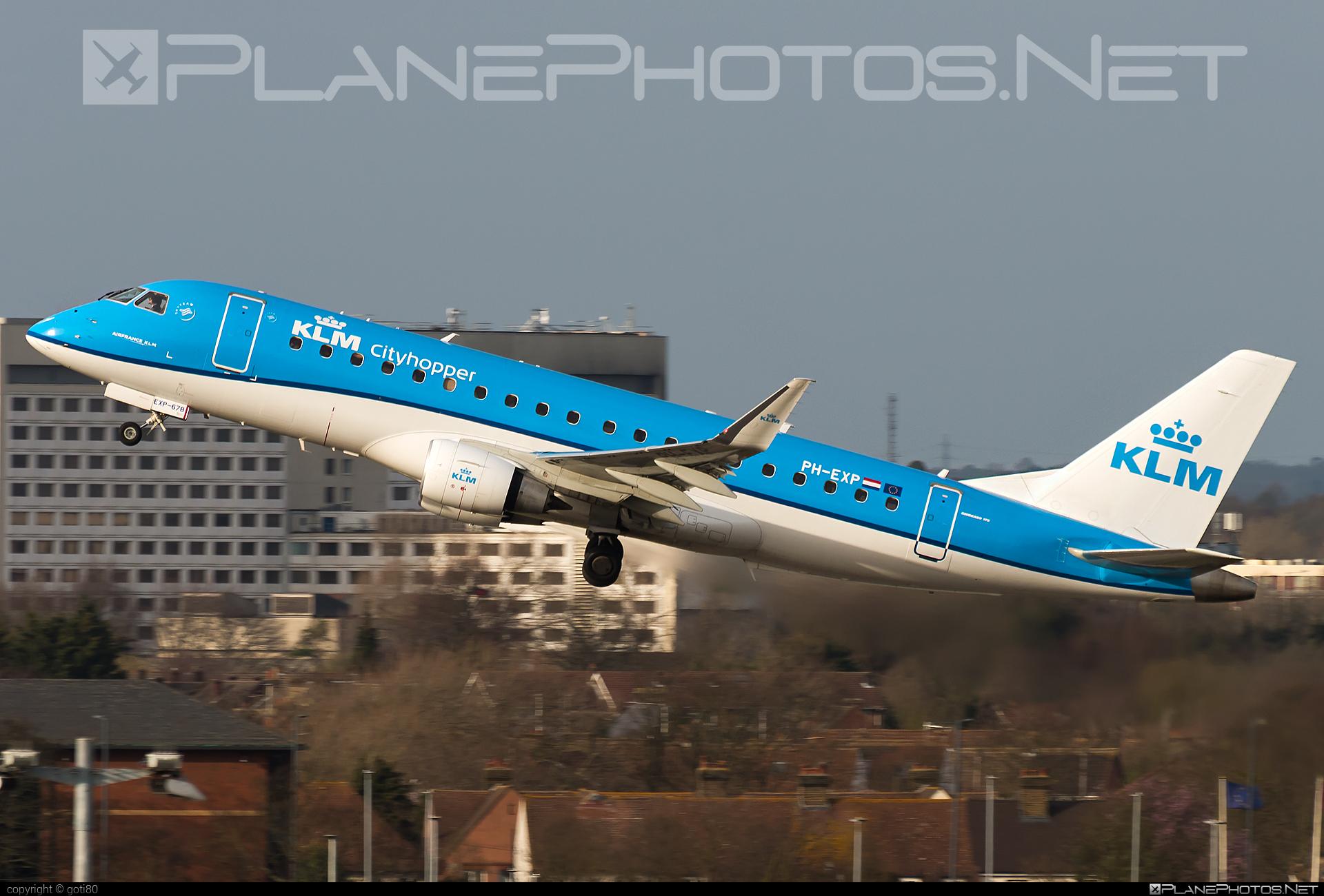 Embraer 170-200STD - PH-EXP operated by KLM Cityhopper #embraer #klm #klmcityhopper