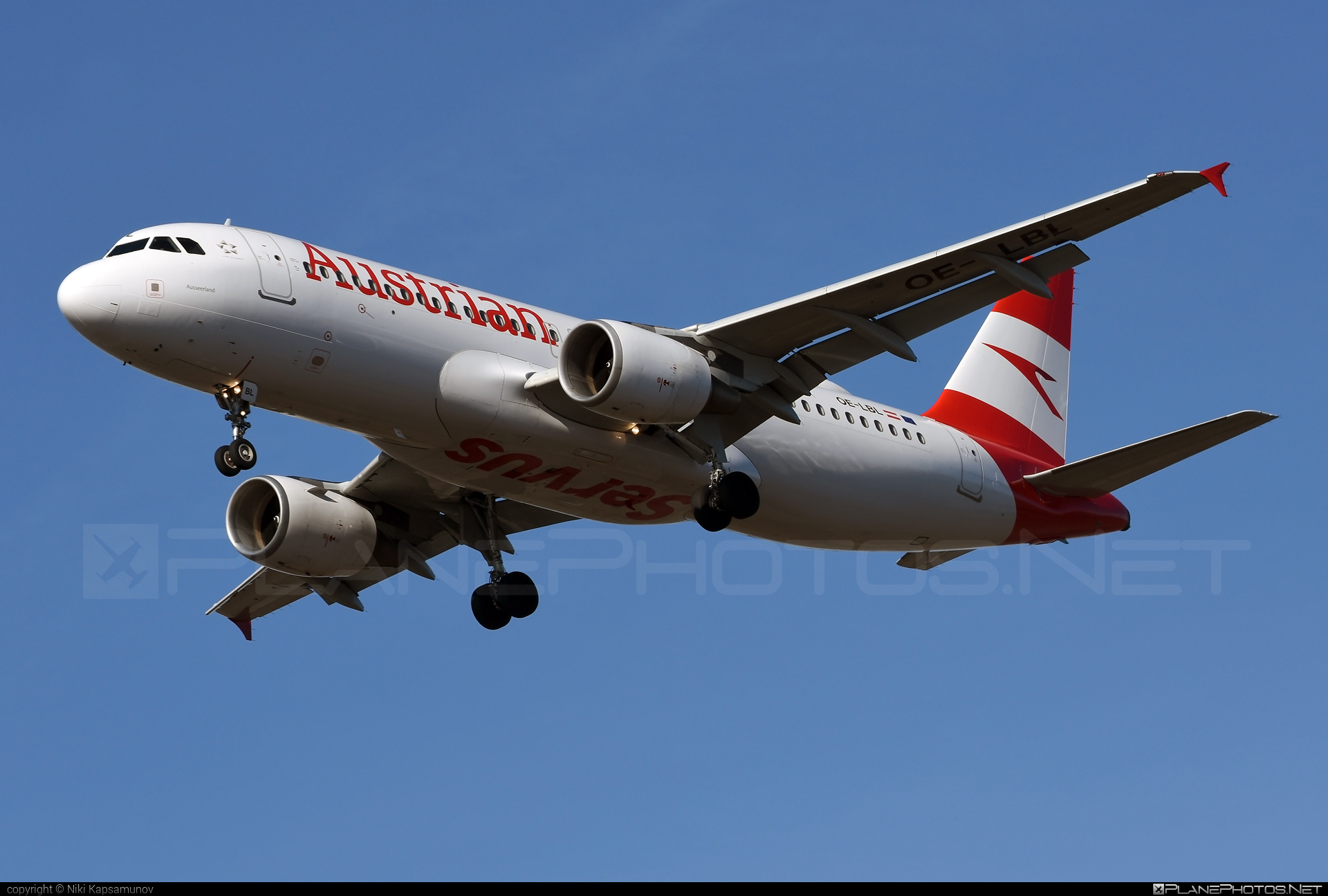 Airbus A320-214 - OE-LBL operated by Austrian Airlines #a320 #a320family #airbus #airbus320