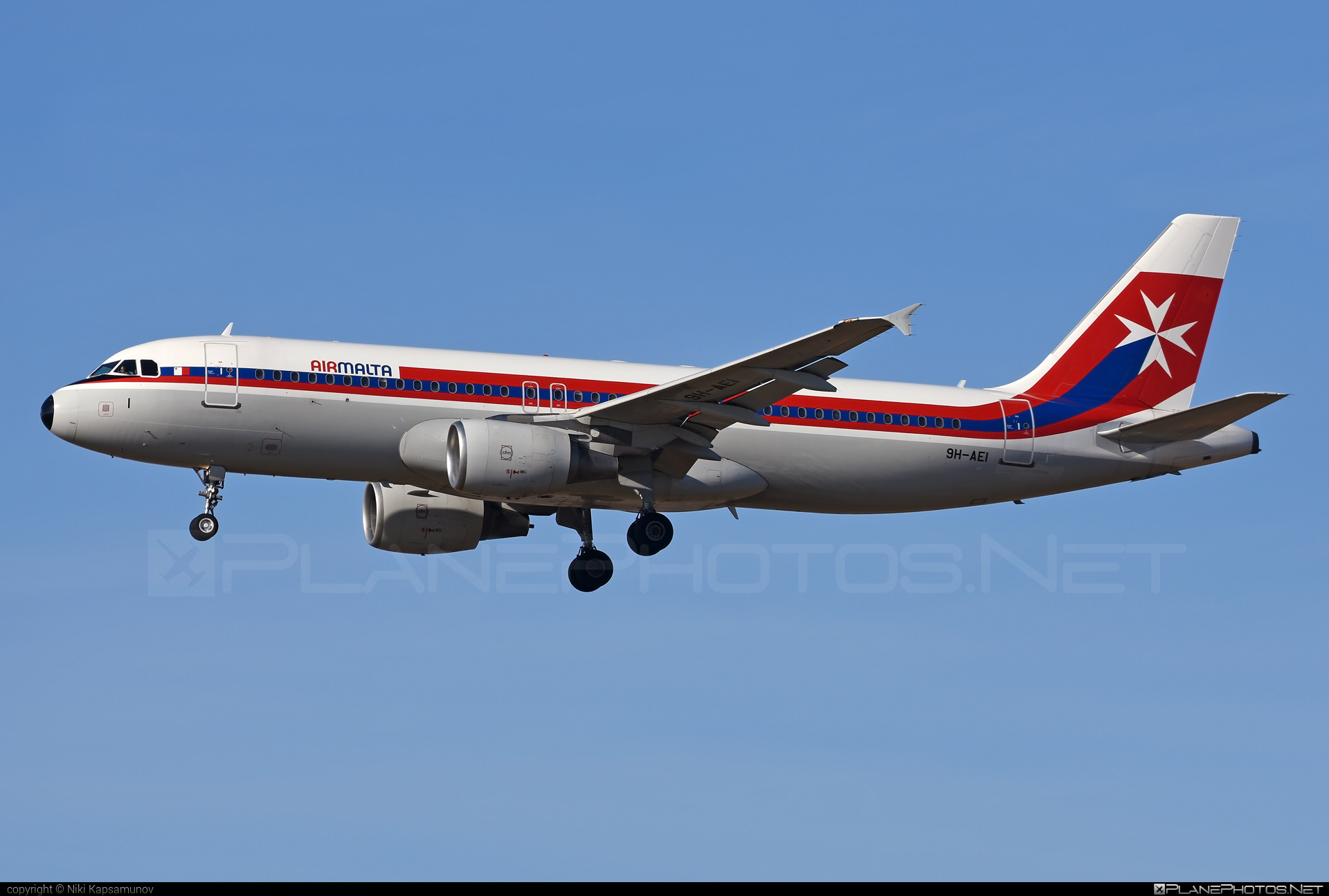 Airbus A320-214 - 9H-AEI operated by Air Malta #a320 #a320family #airbus #airbus320 #airmalta