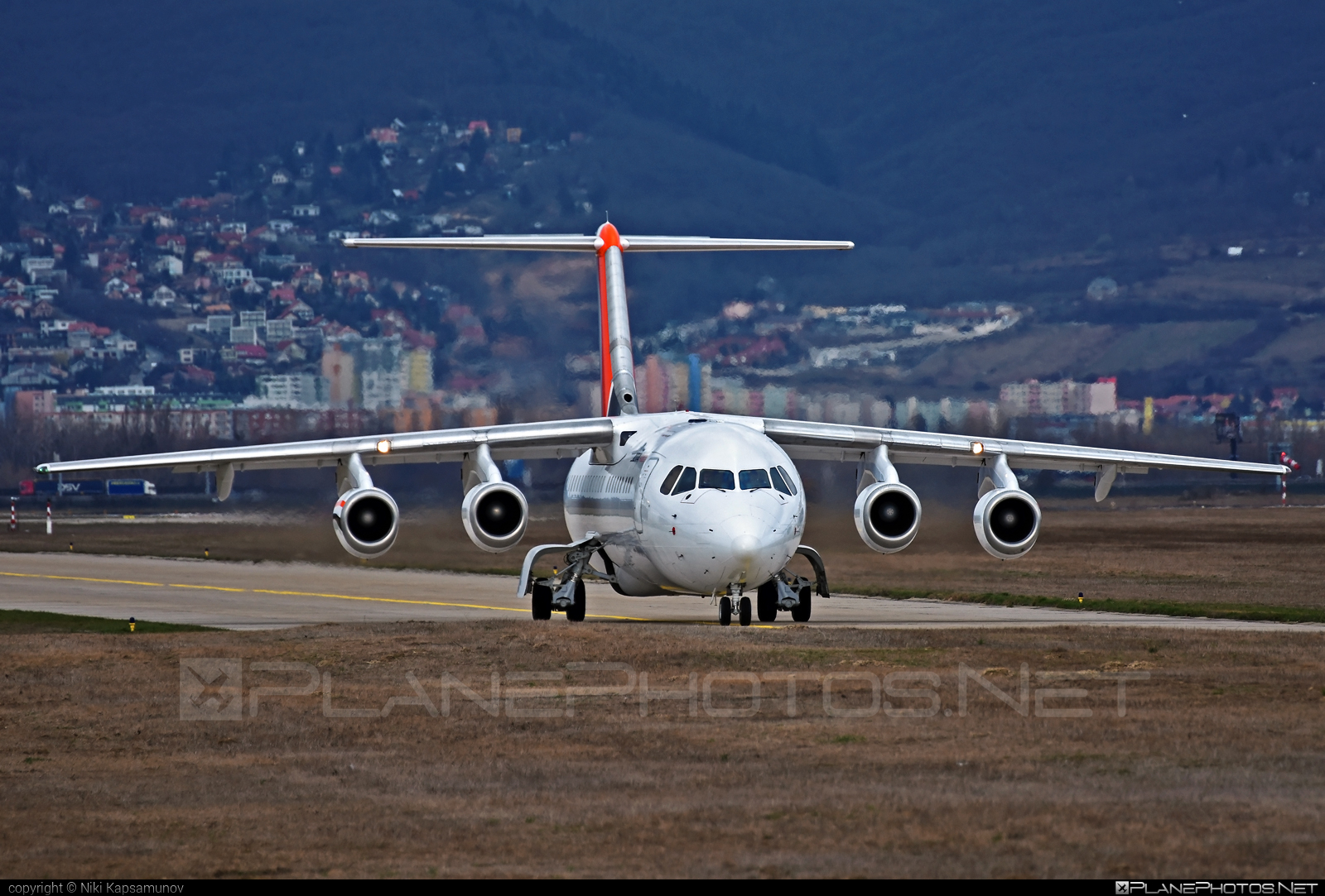 British Aerospace Avro RJ100 - G-JOTS operated by Jota Aviation #avro146rj100 #avrorj100 #bae146 #britishaerospace