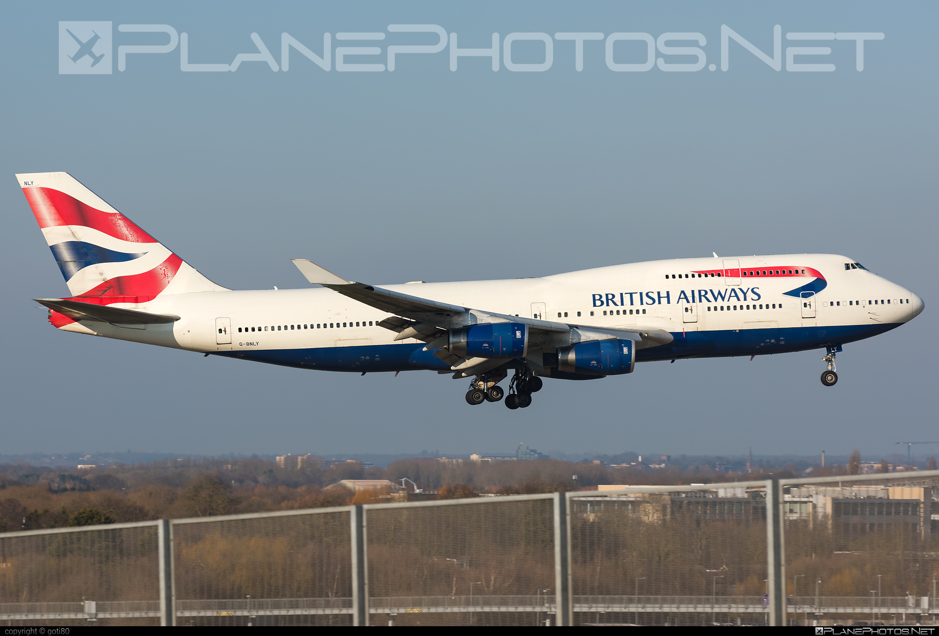 Boeing 747-400 - G-BNLY operated by British Airways #b747 #boeing #boeing747 #britishairways #jumbo