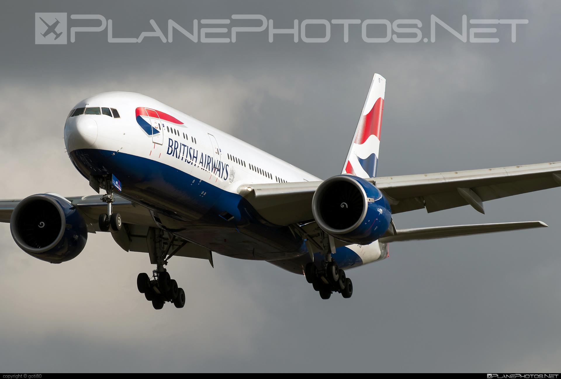 British Airways Boeing 777-200ER - G-VIIS #b777 #b777er #boeing #boeing777 #britishairways #tripleseven