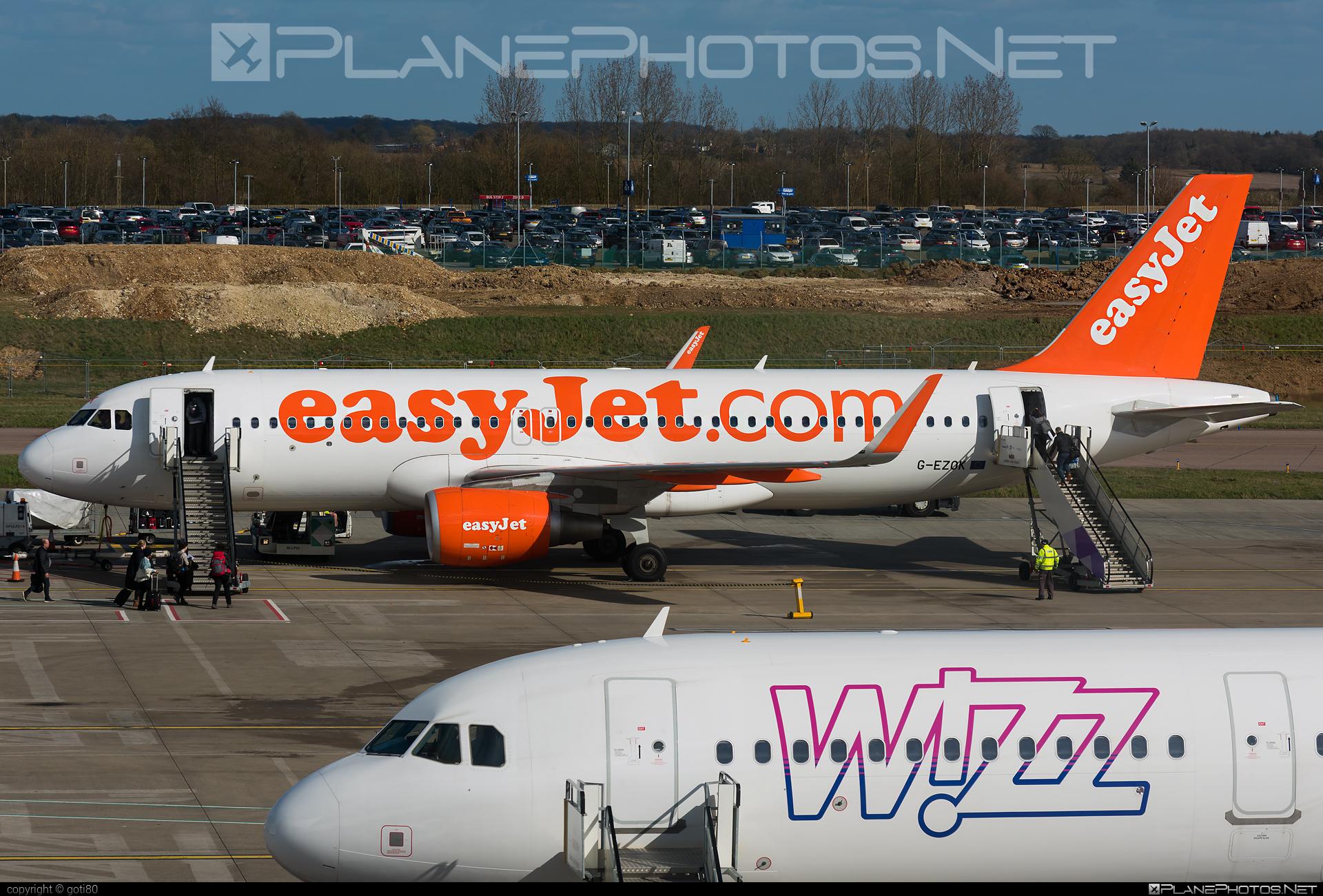 easyJet Airbus A320-214 - G-EZOK #a320 #a320family #airbus #airbus320 #easyjet