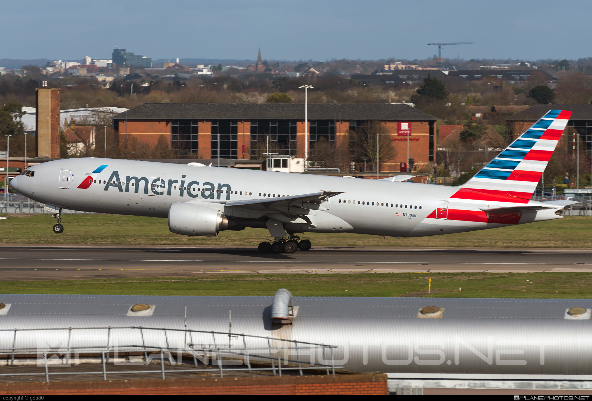 Boeing 777-200ER - N790AN operated by American Airlines #americanairlines #b777 #b777er #boeing #boeing777 #tripleseven