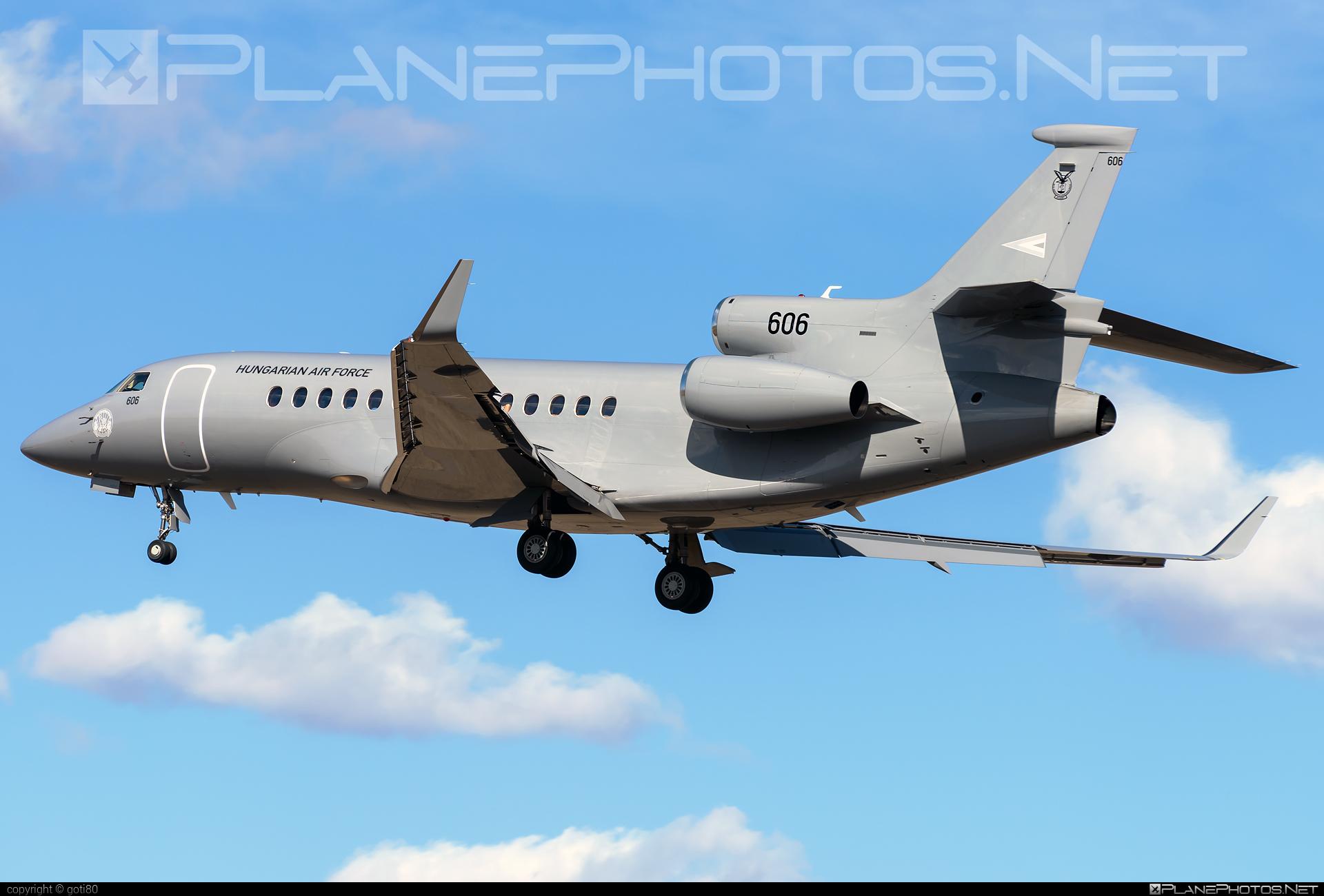 Magyar Légierő (Hungarian Air Force) Dassault Falcon 7X - 606 #dassault #dassaultfalcon #dassaultfalcon7x #falcon7x #hungarianairforce #magyarlegiero