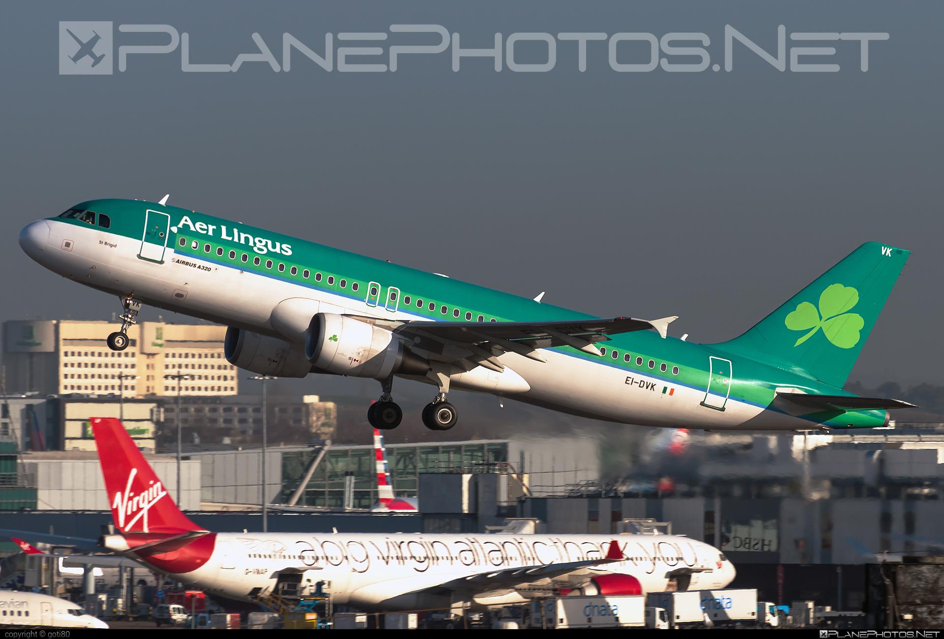 Aer Lingus Airbus A320-214 - EI-DVK #a320 #a320family #aerlingus #airbus #airbus320