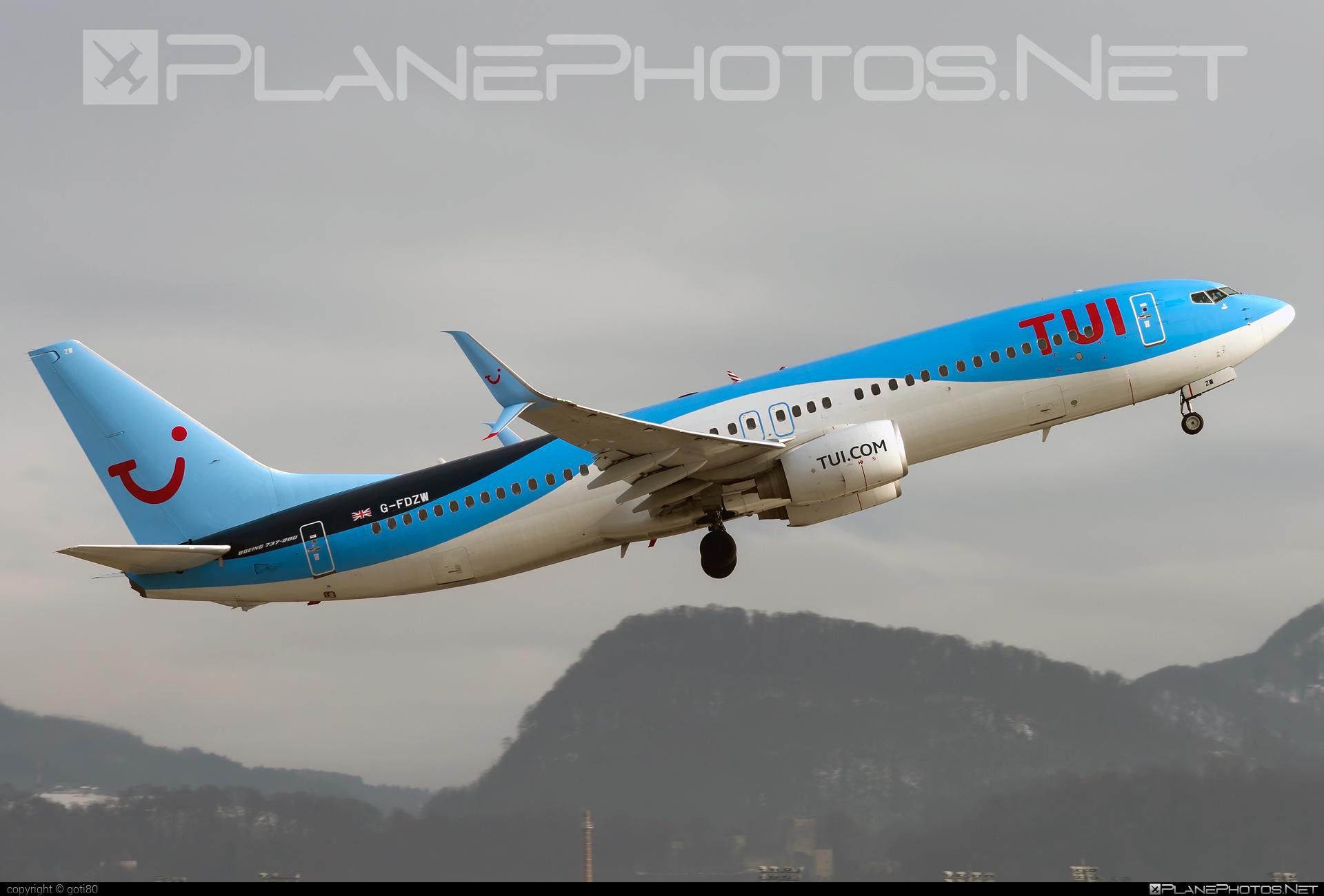 Boeing 737-800 - G-FDZW operated by TUIfly #b737 #b737nextgen #b737ng #boeing #boeing737 #tui #tuifly