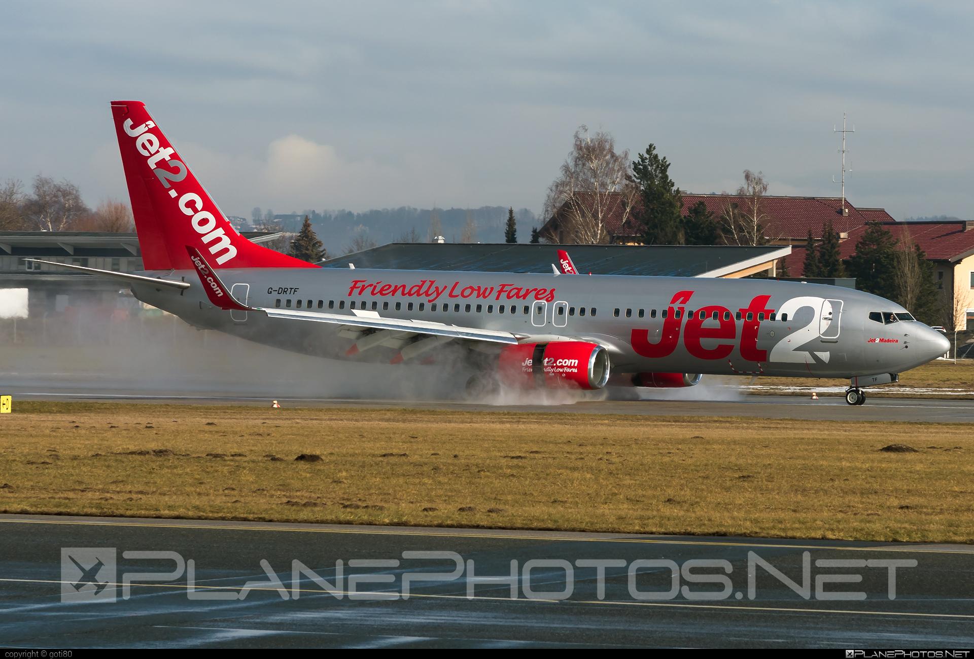Boeing 737-800 - G-DRTF operated by Jet2 #b737 #b737nextgen #b737ng #boeing #boeing737 #jet2
