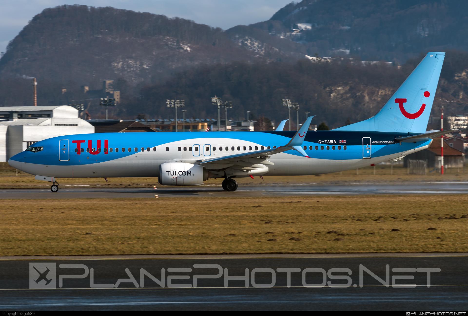 TUI Airways Boeing 737-800 - G-TAWA #b737 #b737nextgen #b737ng #boeing #boeing737 #tuiairways