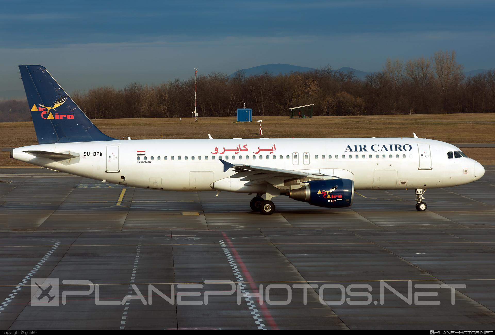 Air Cairo Airbus A320-214 - SU-BPW #a320 #a320family #airbus #airbus320 #aircairo