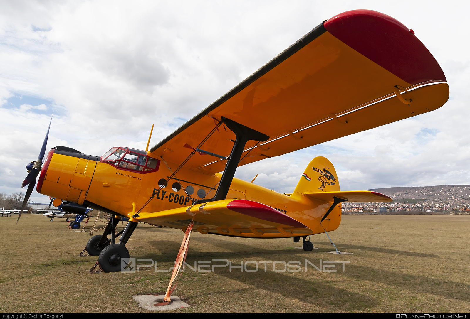 Antonov An-2R - HA-MDT operated by Fly-Coop #an2 #an2r #antonov #antonov2
