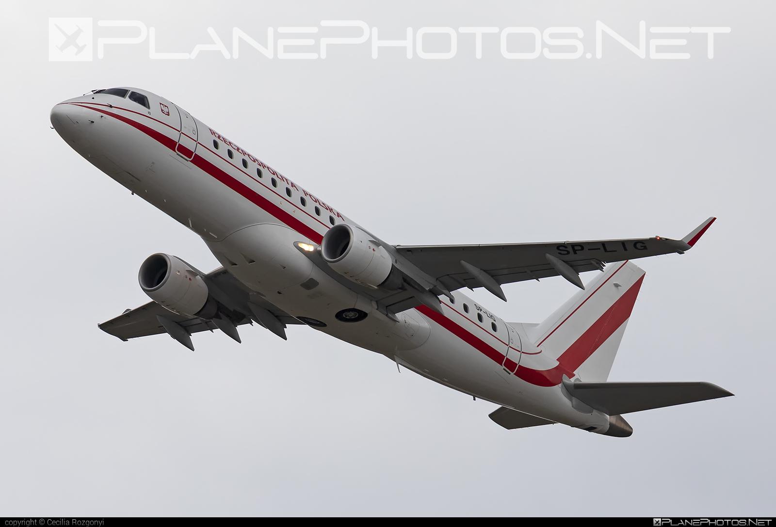 Poland - Government Embraer 170-200LR - SP-LIG #embraer