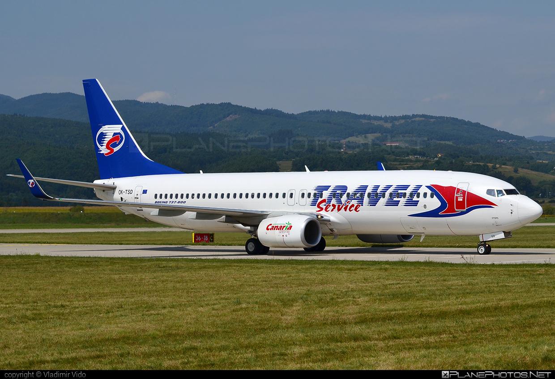 Boeing 737-800 - OK-TSD operated by Travel Service #b737 #b737nextgen #b737ng #boeing #boeing737 #travelservice