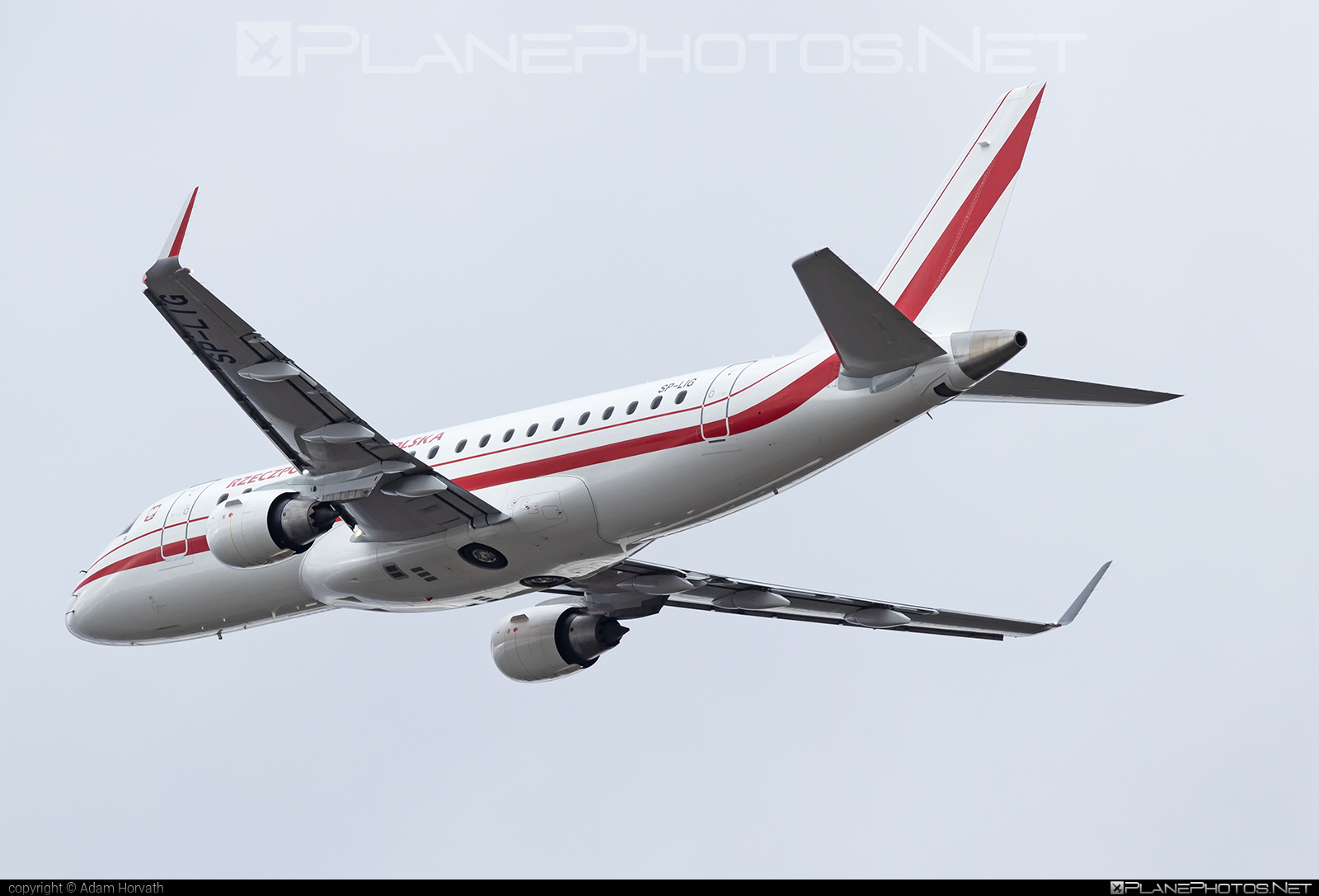 Embraer 170-200LR - SP-LIG operated by Poland - Government #embraer