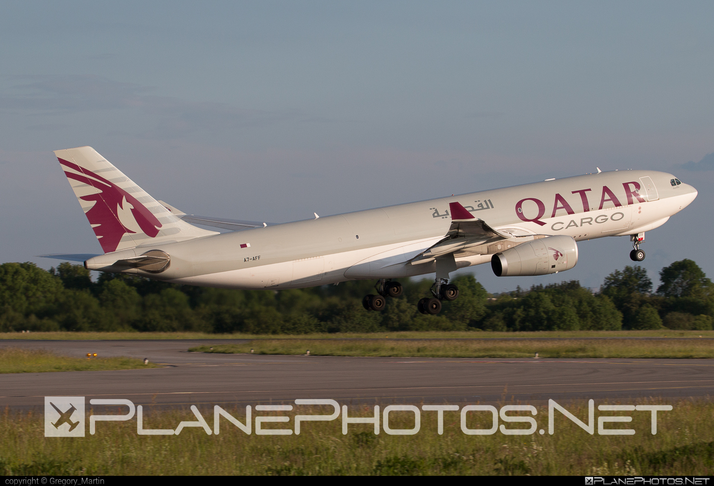 Airbus A330-243F - A7-AFF operated by Qatar Airways Cargo #a330 #a330f #a330family #airbus #airbus330 #qatarairwayscargo