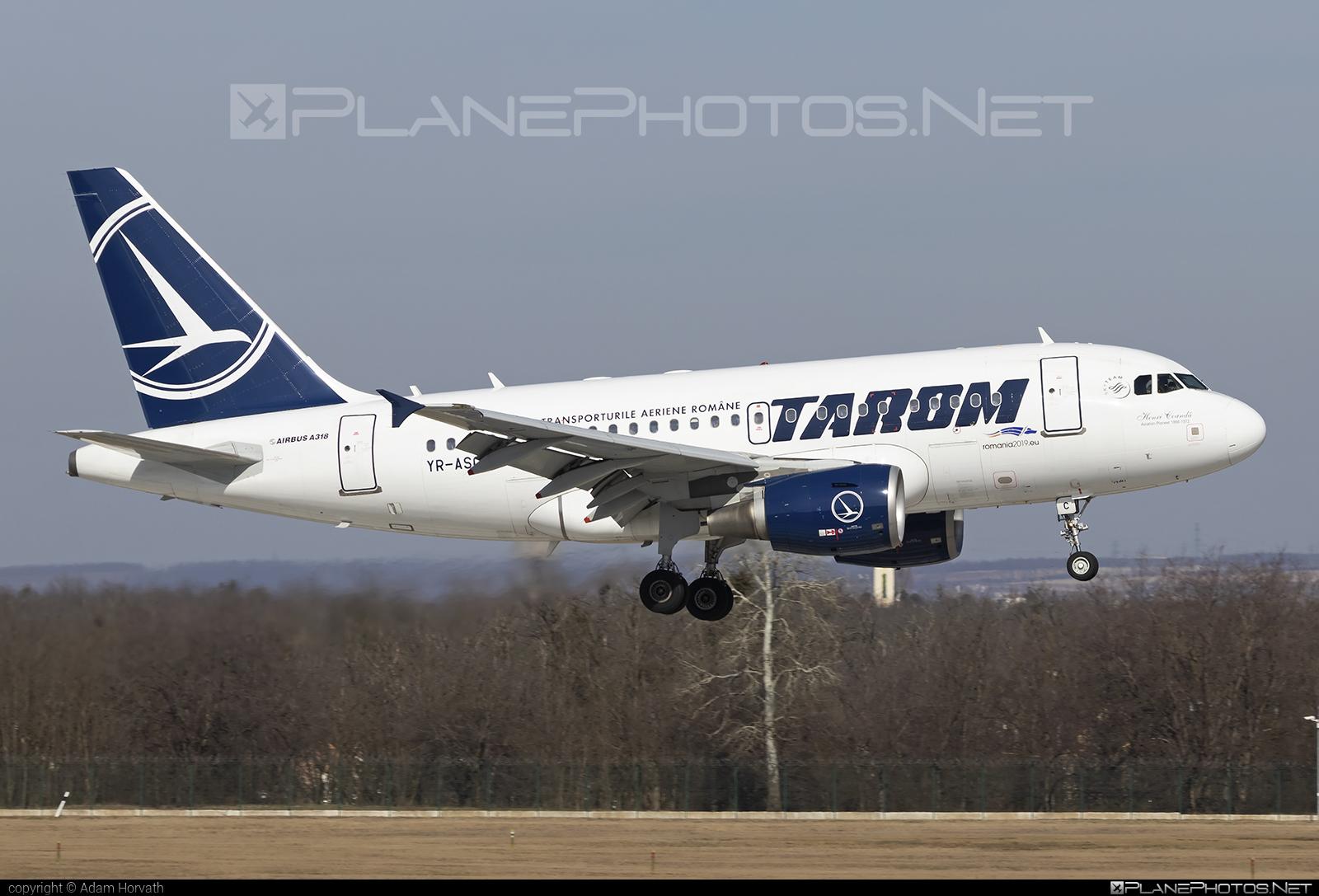 Tarom Airbus A318-111 - YR-ASC #a318 #a320family #airbus #airbus318