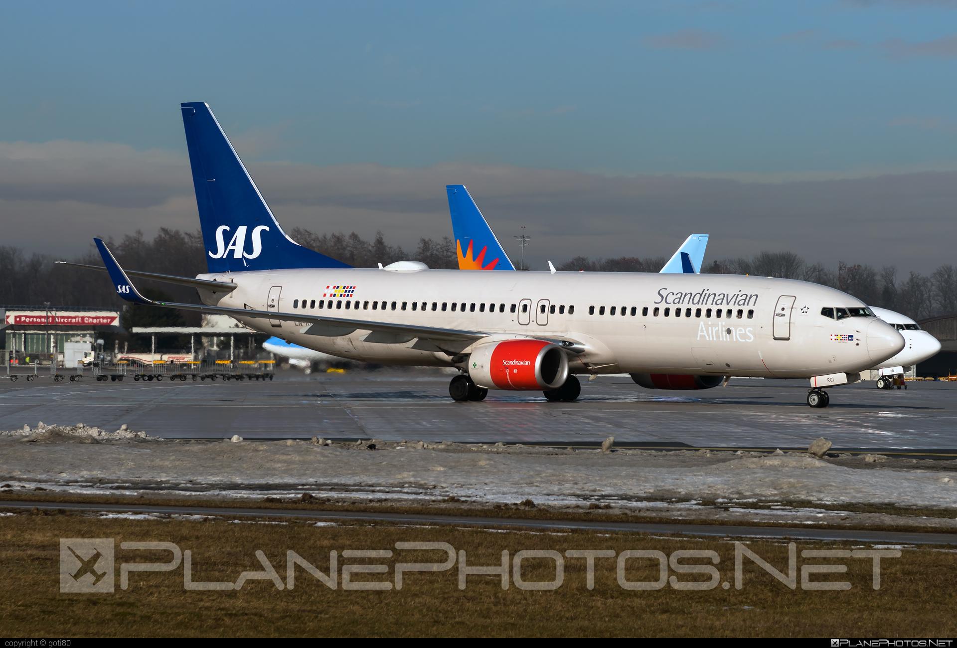 Scandinavian Airlines (SAS) Boeing 737-800 - LN-RGI #b737 #b737nextgen #b737ng #boeing #boeing737 #sas #sasairlines #scandinavianairlines