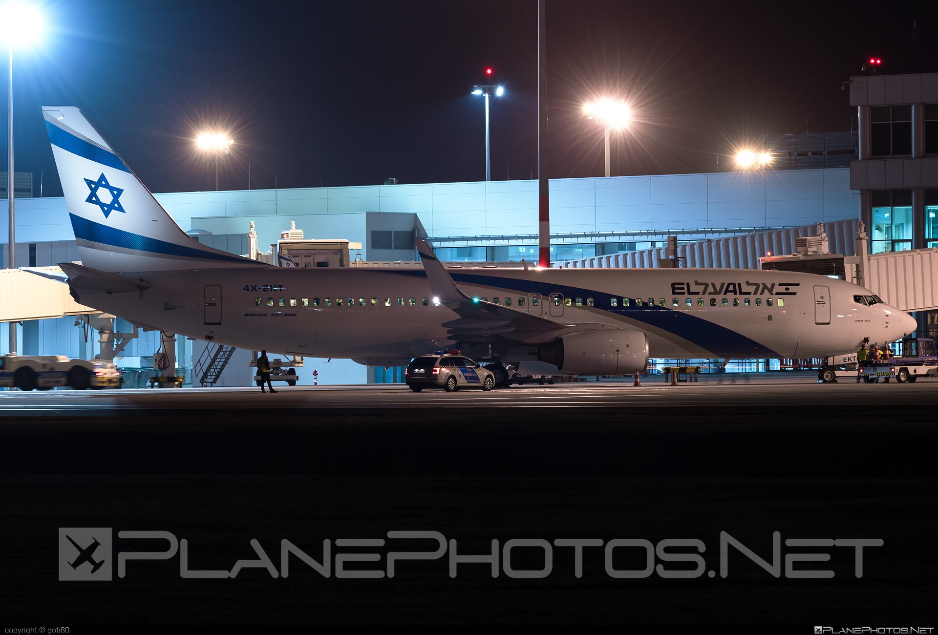 El Al Israel Airlines Boeing 737-800 - 4X-EKT #b737 #b737nextgen #b737ng #boeing #boeing737 #elal #elalisraelairlines #israelairlines