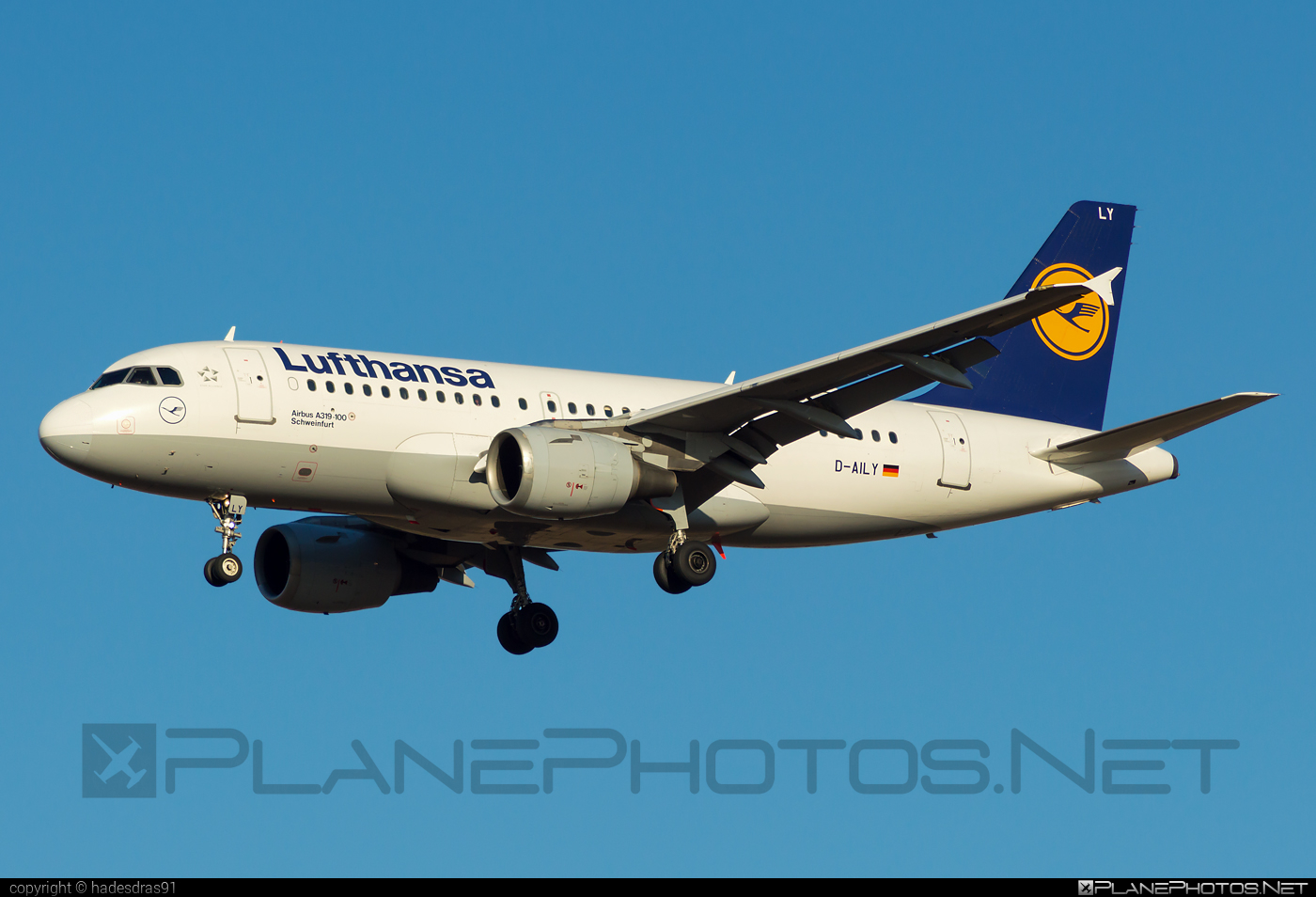 Airbus A319-114 - D-AILY operated by Lufthansa #a319 #a320family #airbus #airbus319 #lufthansa