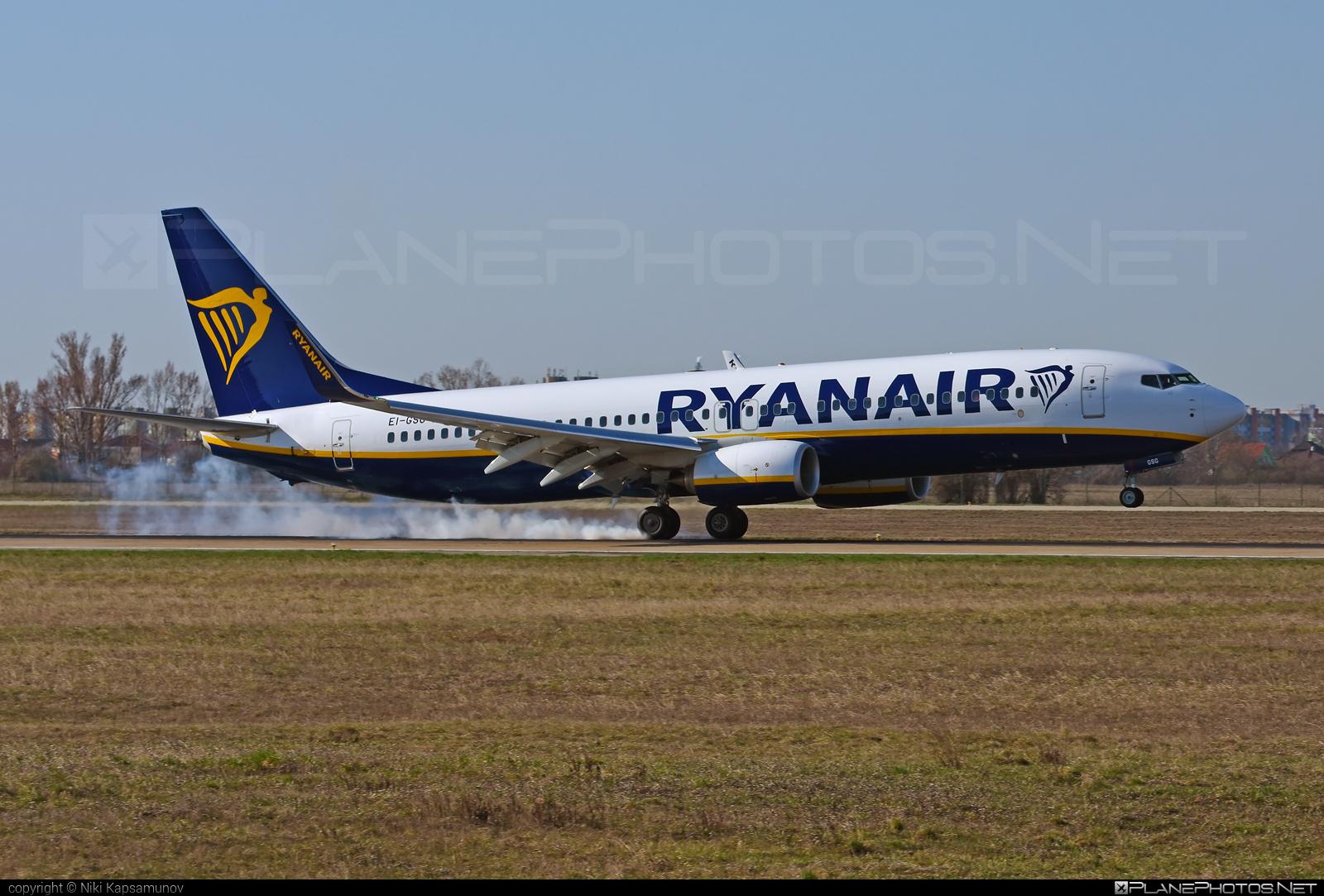 Ryanair Boeing 737-800 - EI-GSG #b737 #b737nextgen #b737ng #boeing #boeing737 #ryanair