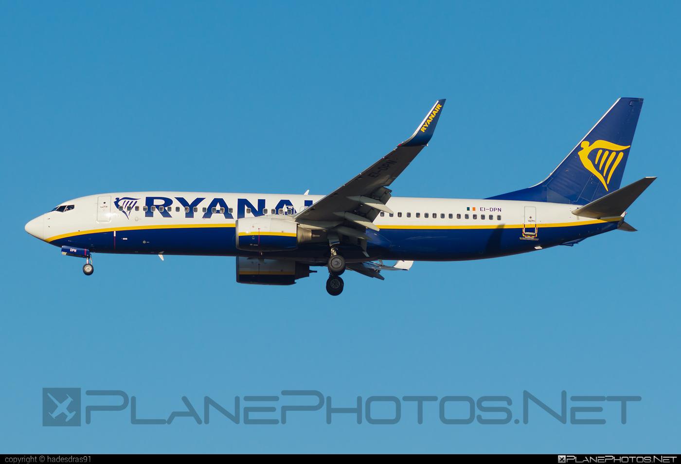 Boeing 737-800 - EI-DPN operated by Ryanair #b737 #b737nextgen #b737ng #boeing #boeing737 #ryanair