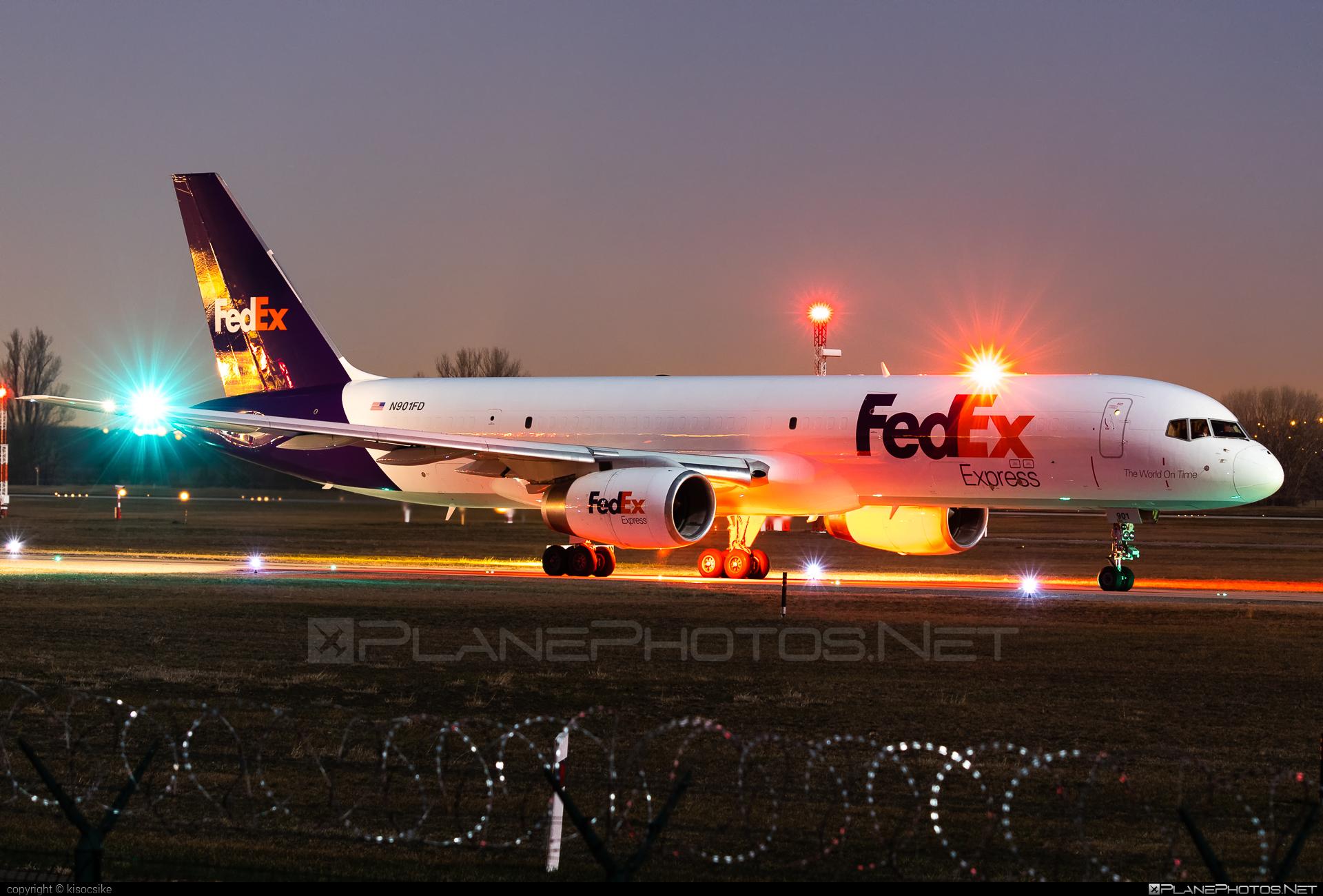 Boeing 757-200SF - N901FD operated by FedEx Express #b757 #boeing #boeing757 #fedex #fedexairlines #fedexexpress