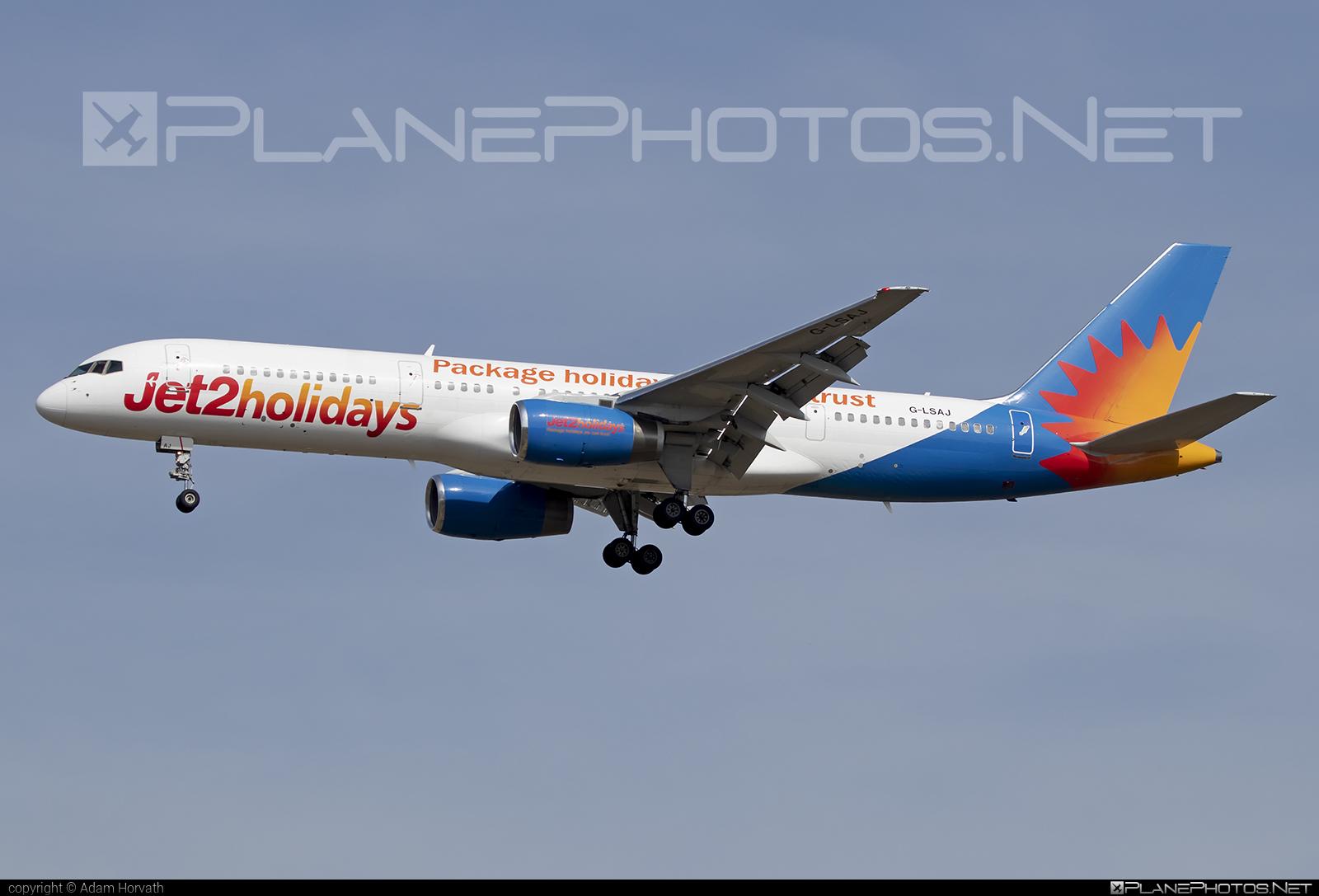 Jet2 Boeing 757-200 - G-LSAJ #b757 #boeing #boeing757 #jet2