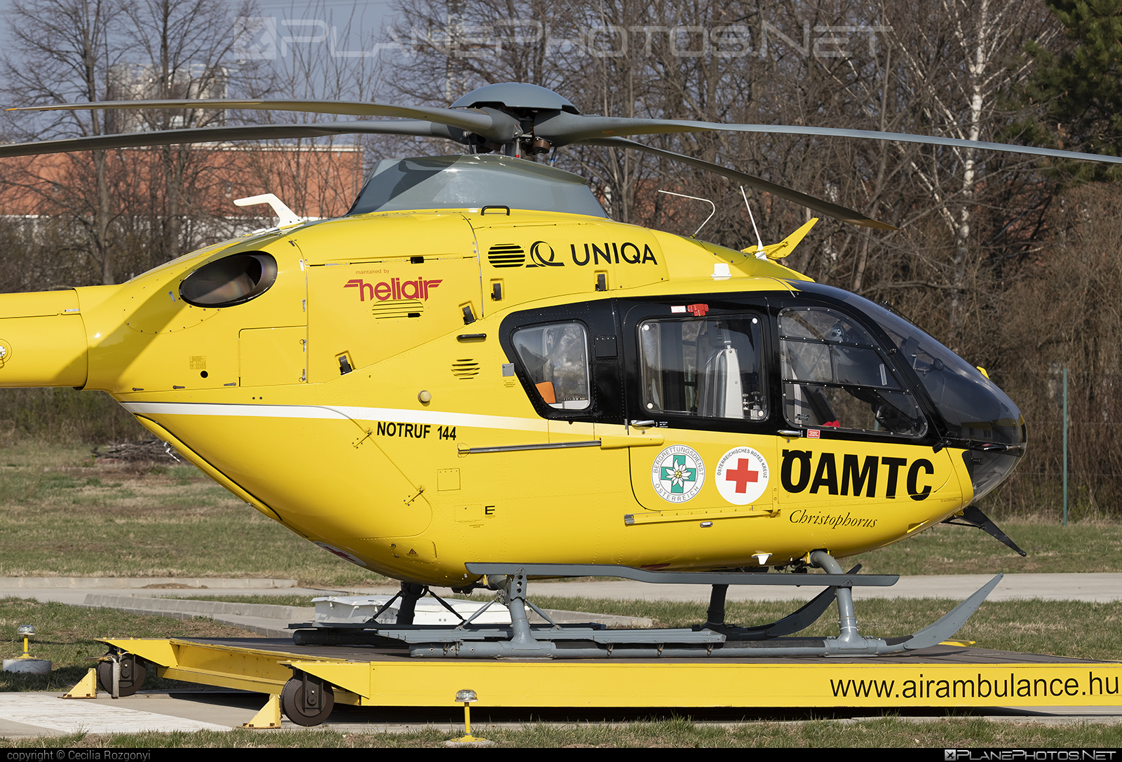 Helikopter Air Transport GmbH Eurocopter EC135 T2 - OE-XEJ #ec135 #ec135t2 #eurocopter #heliair #helikopterairtransport #helikopterairtransportgmbh