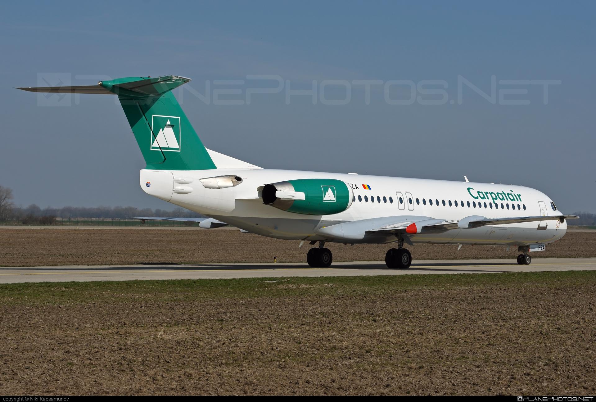 Carpatair Fokker 100 - YR-FZA #fokker