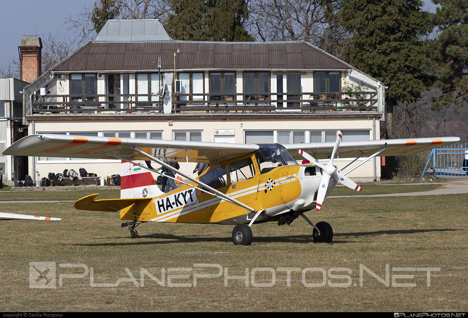 Bellanca 7GCBC Citabria - HA-KYT operated by Private operator #bellanca