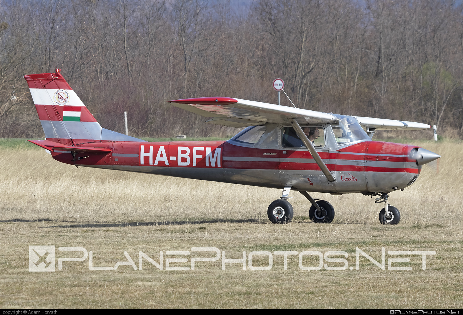 Reims F150G - HA-BFM operated by Private operator #cessna150 #f150g #reims #reims150 #reimsf150 #reimsf150g