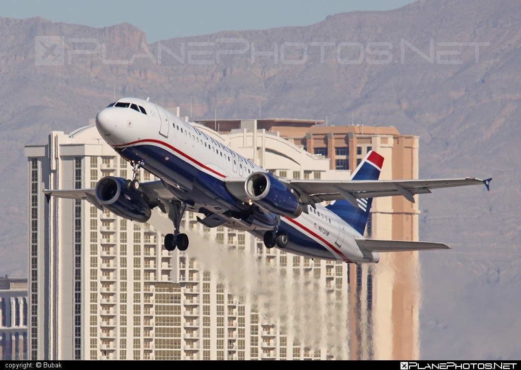 Airbus A320-232 - N672AW operated by US Airways #a320 #a320family #airbus #airbus320