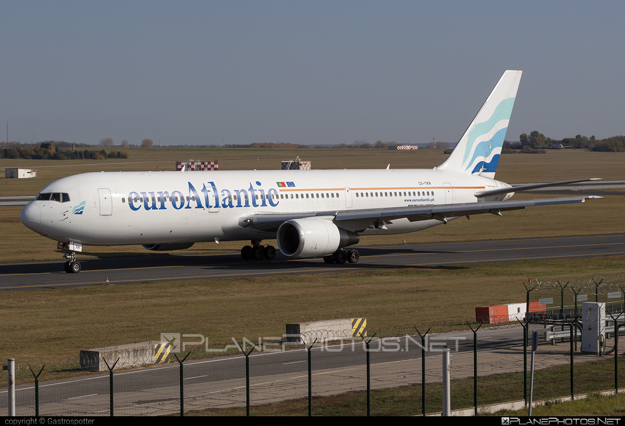Boeing 767-300ER - CS-TKR operated by EuroAtlantic Airways #b767 #b767er #boeing #boeing767 #euroatlantic #euroatlanticairways