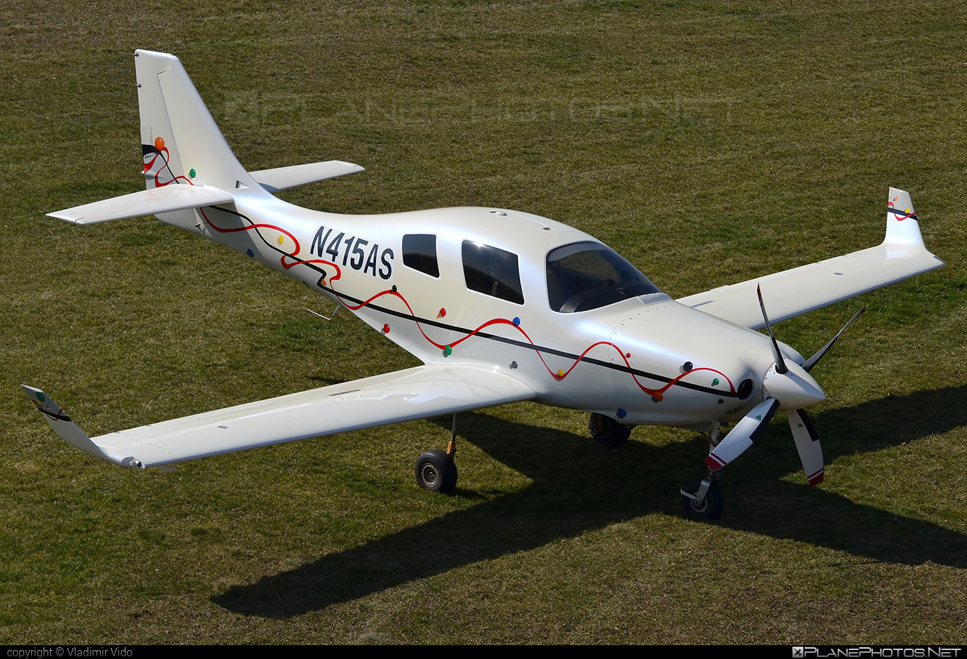 Lancair IV-P - N415AS operated by Private operator #lancair