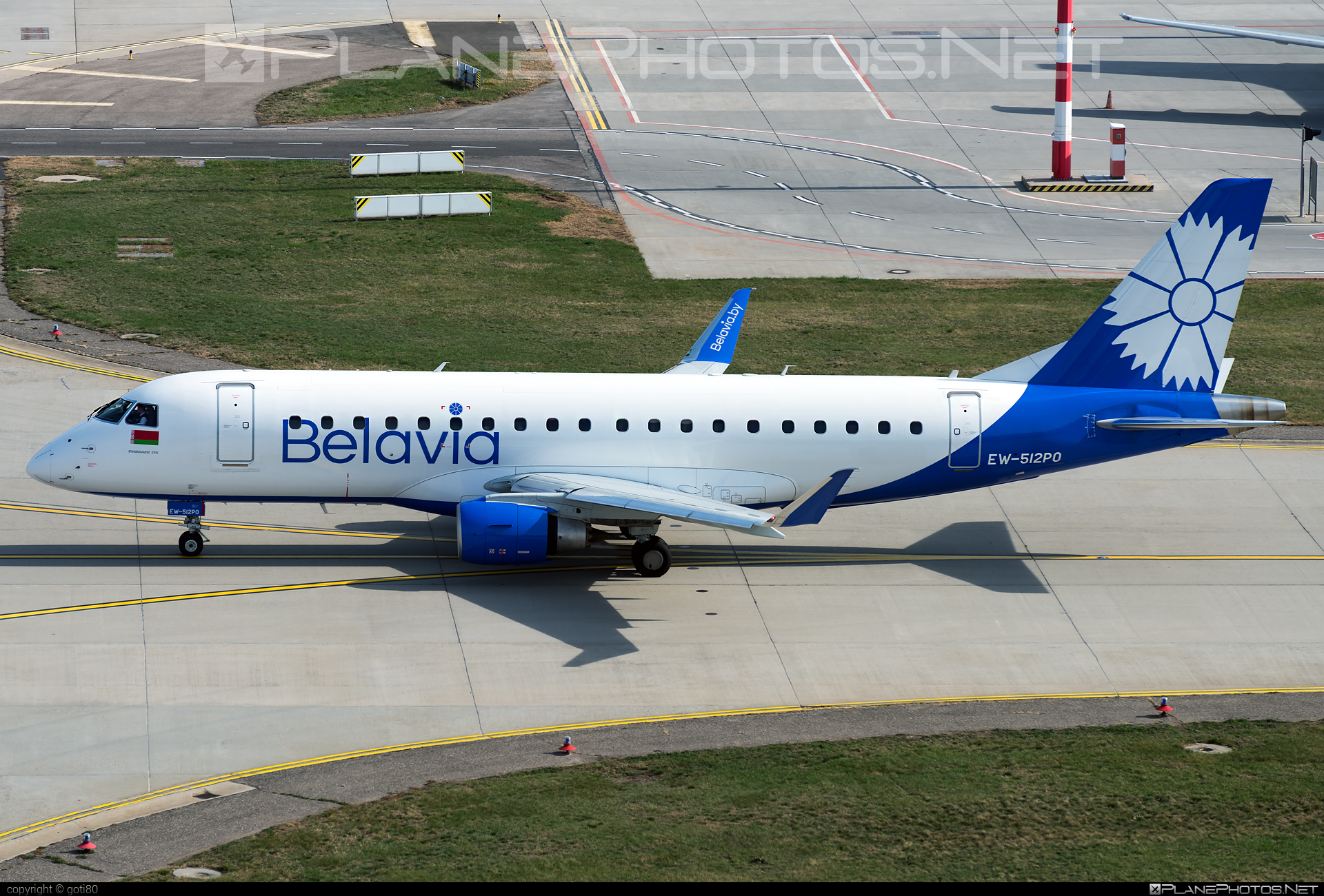 Embraer 170-200LR - EW-512PO operated by Belavia Belarusian Airlines #belavia #embraer