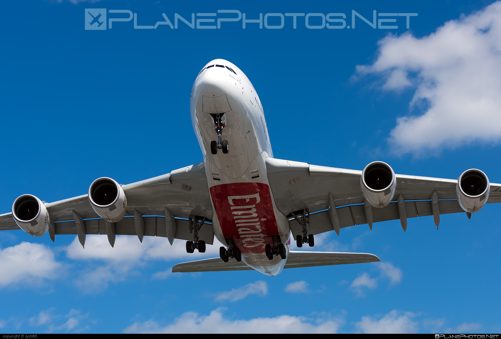 Airbus A380-861 - A6-EOZ operated by Emirates #a380 #a380family #airbus #airbus380 #emirates