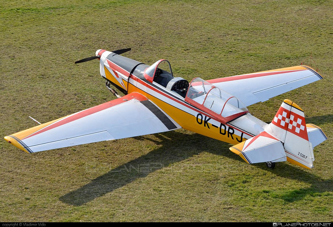 Zlin Z-526F Trenér Master - OK-DRJ operated by Private operator #trenermaster #z526 #z526trenermaster #zlin #zlin526