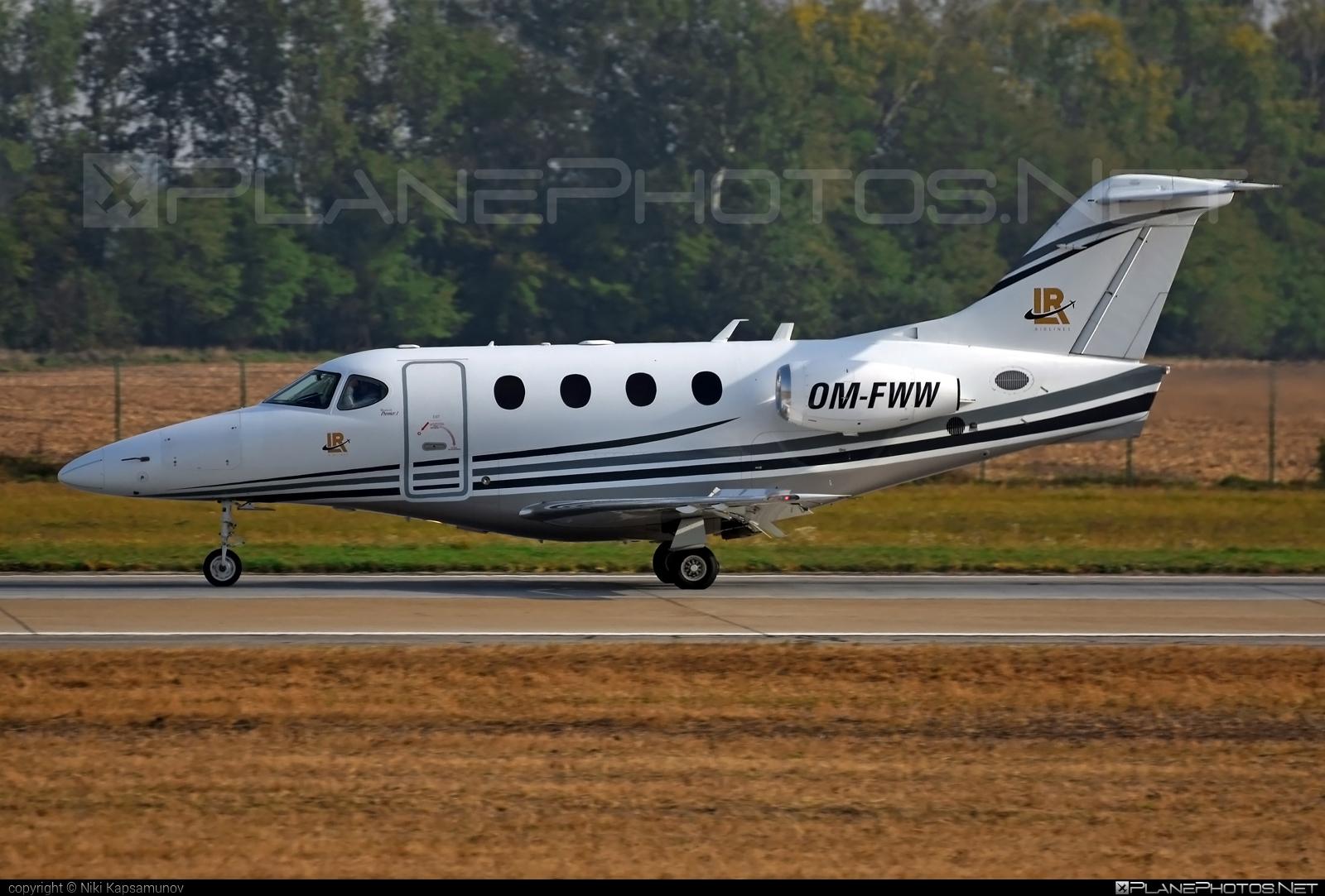 Raytheon 390 Premier I - OM-FWW operated by Elite Jet #raytheon