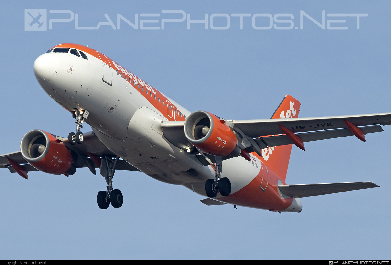 Airbus A319-111 - HB-JYK operated by easyJet Switzerland #a319 #a320family #airbus #airbus319 #easyjet #easyjetswitzerland